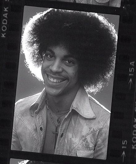 Prince (photo taken by Robert Whitman)