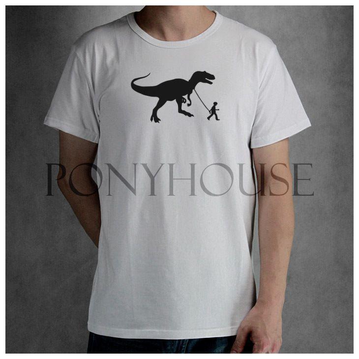 Banksy jongen dinosaurus t- shirt top lycra katoen modemerk nieuwe mannen t-shirt van hoge kwaliteit