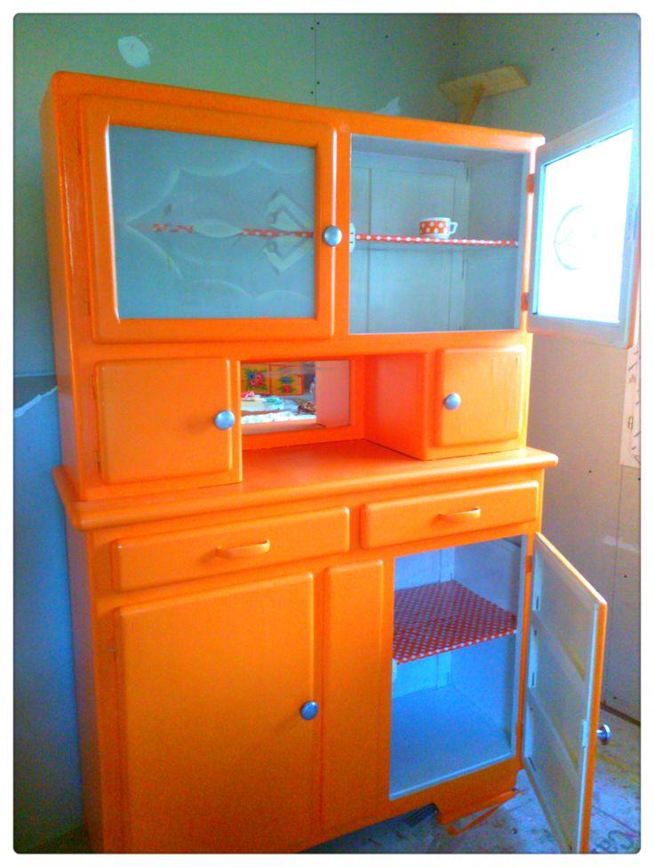 Buffet Mado Orange Vintage
