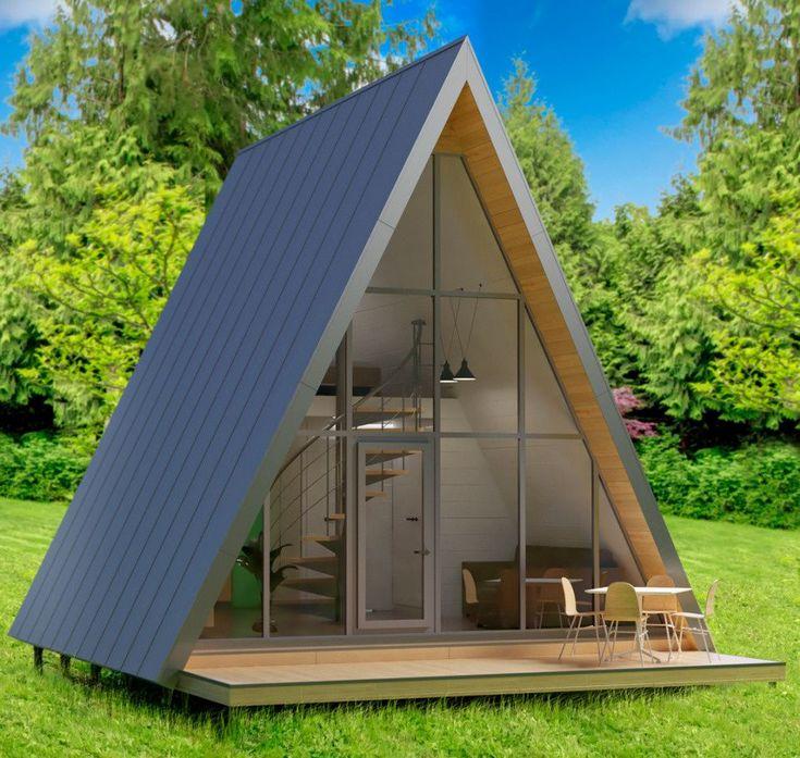 Компактные дачные домики фото и проекты