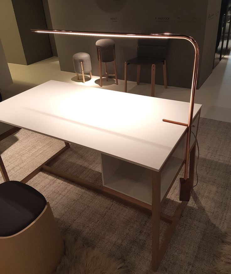 A stunning desk design in FENIX NTM by Ligne Roset.