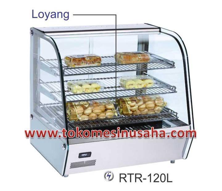Food Warmer adalah rak yang didesign khusus untuk menghangatkan makanan siap saji, seperti pizza, bakmi, aneka lauk dan sayur.  Type : RTR-120L  Dimensi : 67,8 x 56,8 x 67 cm  Volume : 120 L  Power : 1100 W  Temperatur : 30 - 70° C  Berat : 48 Kg