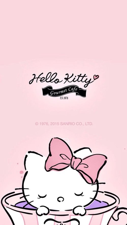 Hello Kitty <3 coffee
