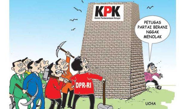 Jokowi harus dengar wejangan SBY, jangan revisi UU KPK