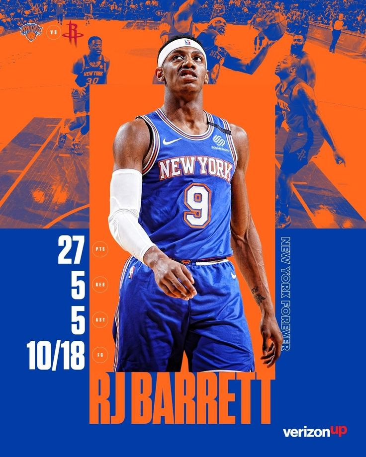 New York Knicks Big night for the rook tying his career