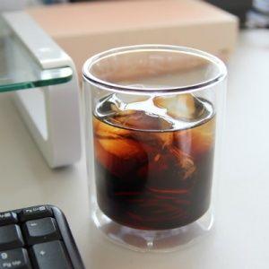 VIVA SCANDINAVIA(ビバ スカンジナビア)<br>ダブルウォール ストレートグラス(ラージ)<br>耐熱ガラス