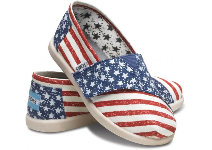 Stars and Stripes Tiny TOMS