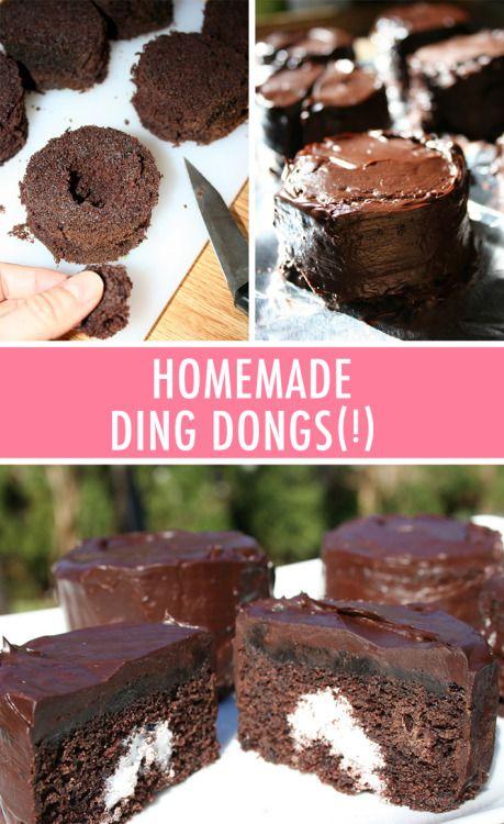 Homemade Ding Dongs recipe Really nice recipes. Every hour. Show  Mein Blog: Alles rund um die Themen Genuss & Geschmack  Kochen Backen Braten Vorspeisen Hauptgerichte und Desserts