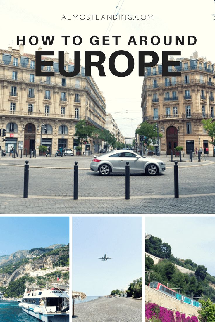 How To Get Around Europe: Europe Transport Options – Tiffany Jost