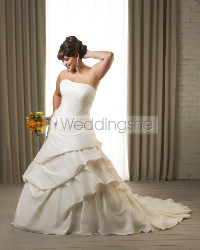 60 best plus size wedding dresses images on Pinterest   Wedding ...