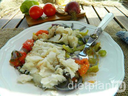 Рыба с овощами: наш белковый обед | Диетические низкокалорийные рецепты - блюда правильного питания на Dietplan.ru