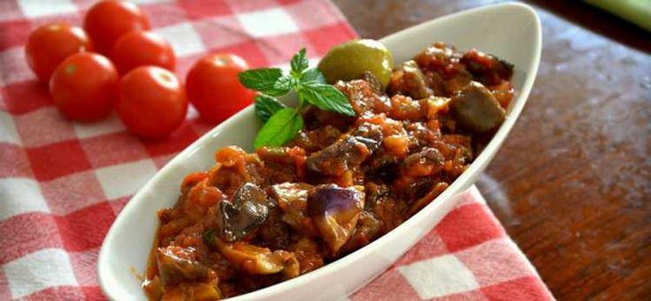 A classic tasty recipe of Sicily: Caponata