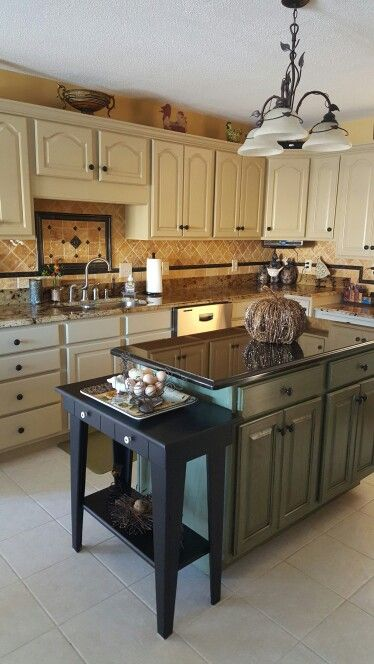 kitchen pics with white cabinets kitchen cabinets and island painted with general finishes 8392