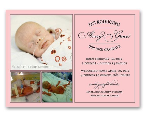91 best Preemie Power images – Harrisburg Hospital Birth Announcements