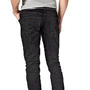 """Модные """"потертые"""" джинсы от марки John Devin отлично смотрятся с любыми футболками, рубашками и толстовками. Узкая модель с 5 карманами (крупные карманы сзади) и двойной отстрочкой - классика кэжуала с новыми деталями. Застегиваются на молнию и пуговицу. Из удобного материала с высокой долей хлопка и добавлением стрейча. Длина брючин по внутреннему шву размера 34 ок. 81 см, ширина внизу примерно 38 см. за 2699р.- от Otto"""