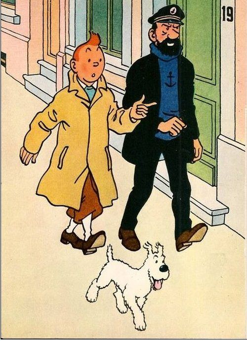 453 best images about tintin on pinterest tibet - Image de tintin et milou ...
