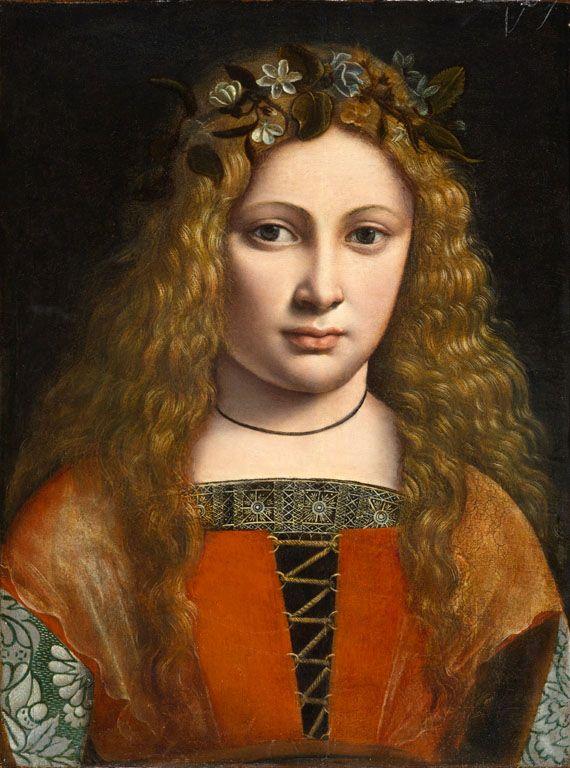 Redhead renaisance painting
