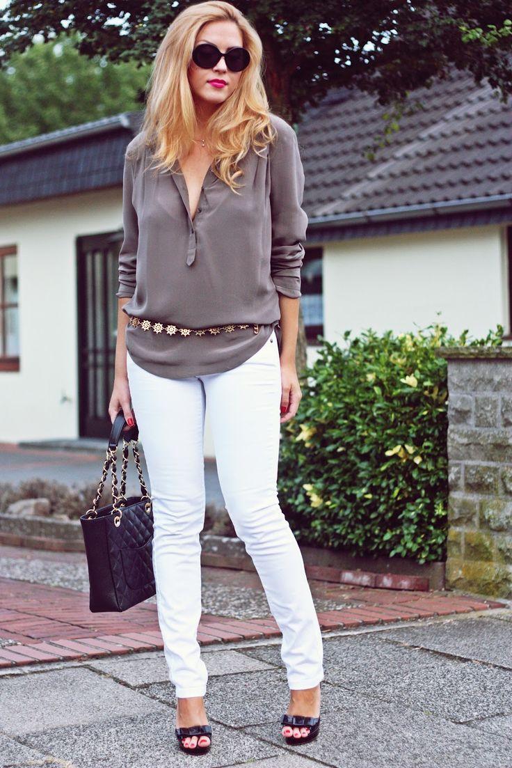 grey shirt.  marie lund