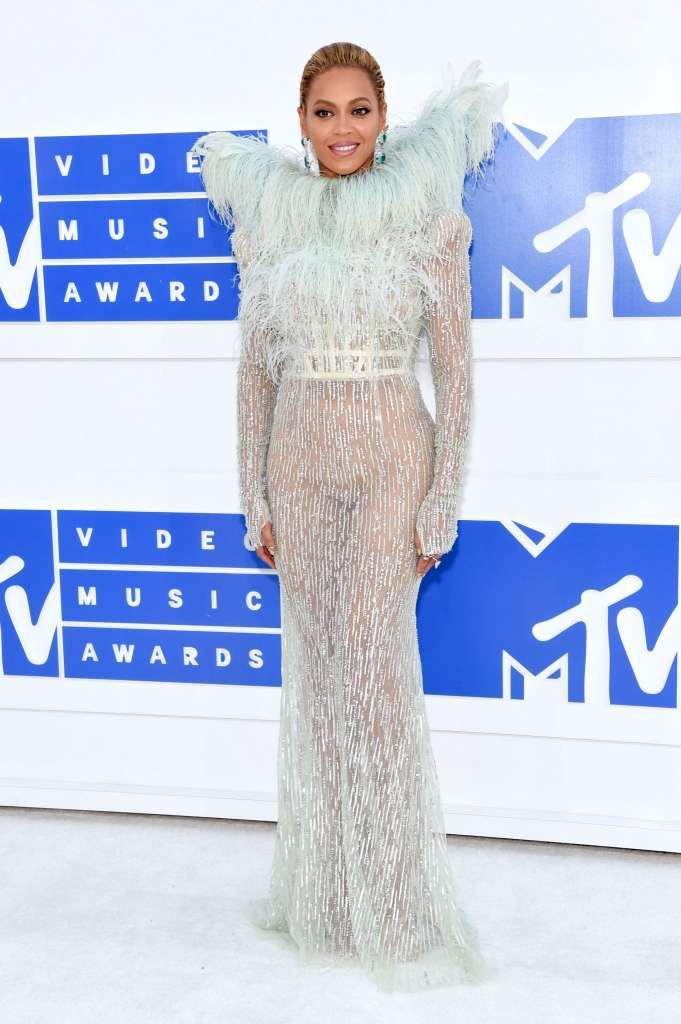NEW YORK, NY - AUGUST 28:  Beyonce attends the 2016 MTV Video Music Awards at…