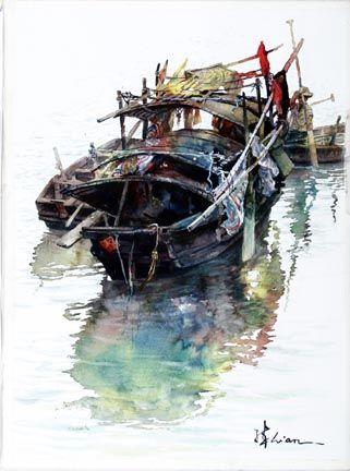 Lian Quan Zhen - Chinese Boats