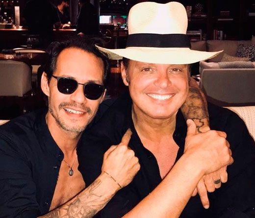 Marc Anthony se juntó con Luis Miguel: Marc Anthony se juntó con Luis Miguel, ¿se viene una colaboración entre ambos artistas?