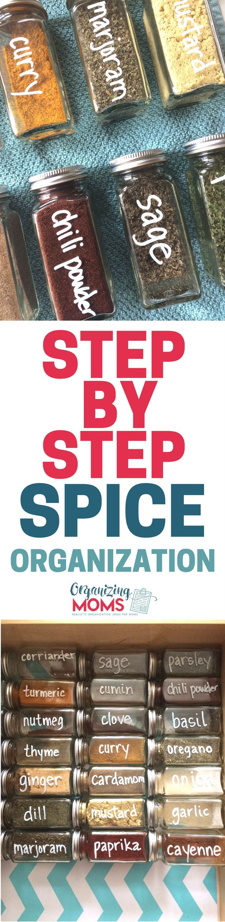 AMAZING! The ideas in this post are so EASY, and make a HUGE difference. I did all of these steps, and now my spice drawer looks like it's straight out of a magazine. I LOVE it!