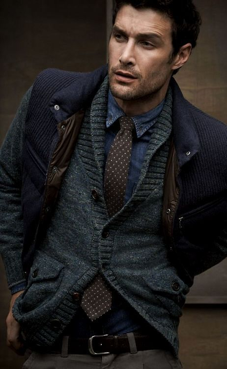 David Guillo for Brunello Cucinelli. Men's Fall Winter Fashion. Women, Men and Kids Outfit Ideas on our website at 7ootd.com #ootd #7ootd