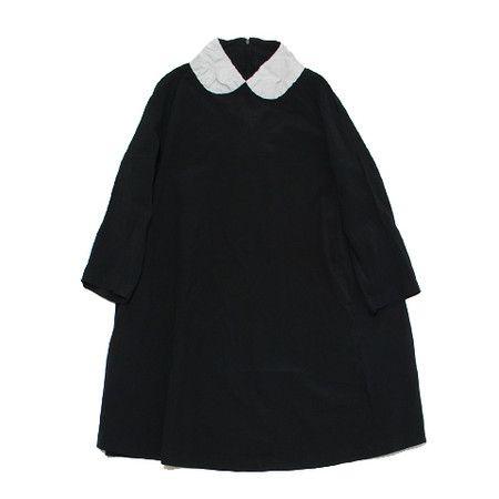 COMME des GARÇONS COMME des GARCONS dress ester × cotton black