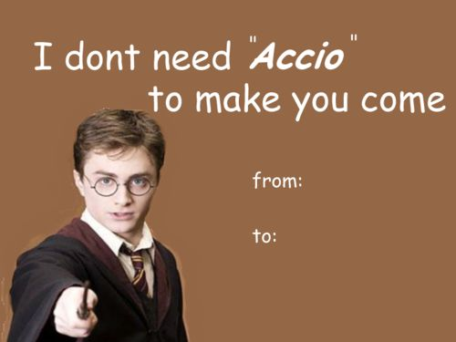 [Harry Potter Valentines]. See More. Bwahaha! My Mind Immediately Went In  The Gutter