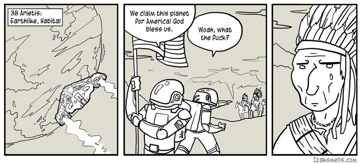 One of my earliest comic strips, I'm a big fan of SciFi so any chance I have to draw space ships I leap at.