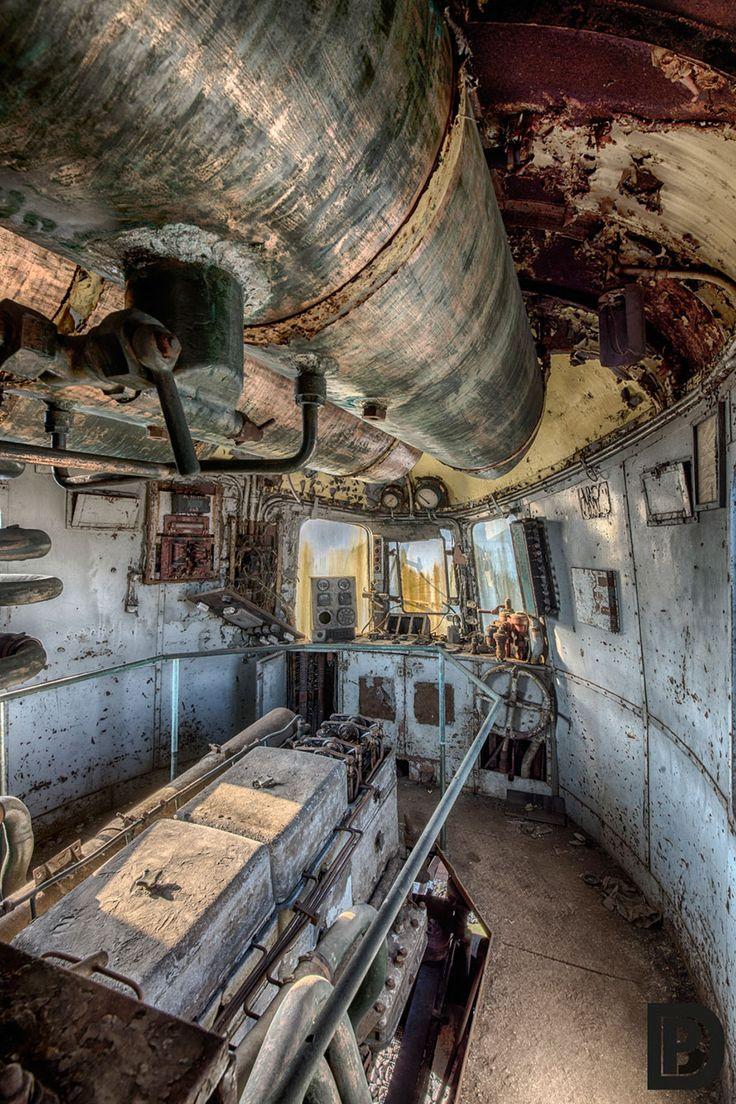 Este tren Orient Express abandonado nos recuerda los viajes de lujo del pasado