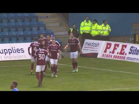 Gillingham vs Northampton Town - http://www.footballreplay.net/football/2016/11/12/gillingham-vs-northampton-town/