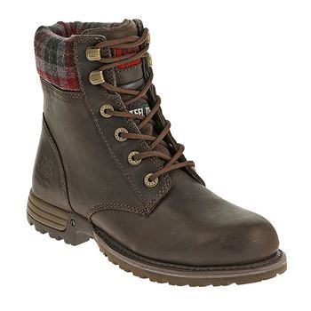 CAT Women's Kenzie Steel Toe Work Boots