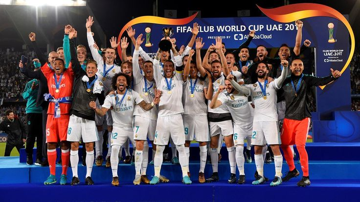 """""""CHAMPIONS of the WORLD!"""" ❤❤ Real Madrid have been crowned world champions after beating Gremio in the final of FIFA Club World Cup 2K17!"""