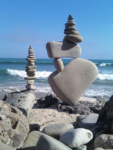Cannot mimic the backdrop (how gorgeous is that?!!!!), but I can attempt to stack Montana rocks in a pleasing array....