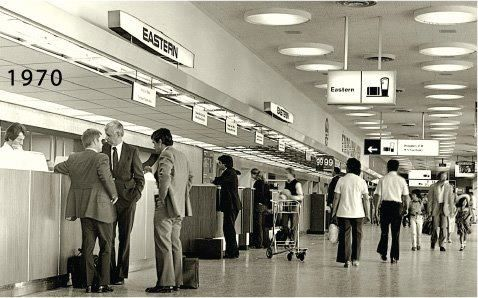 Eastern Air Lines at the San Juan International Airport - 1970 ...