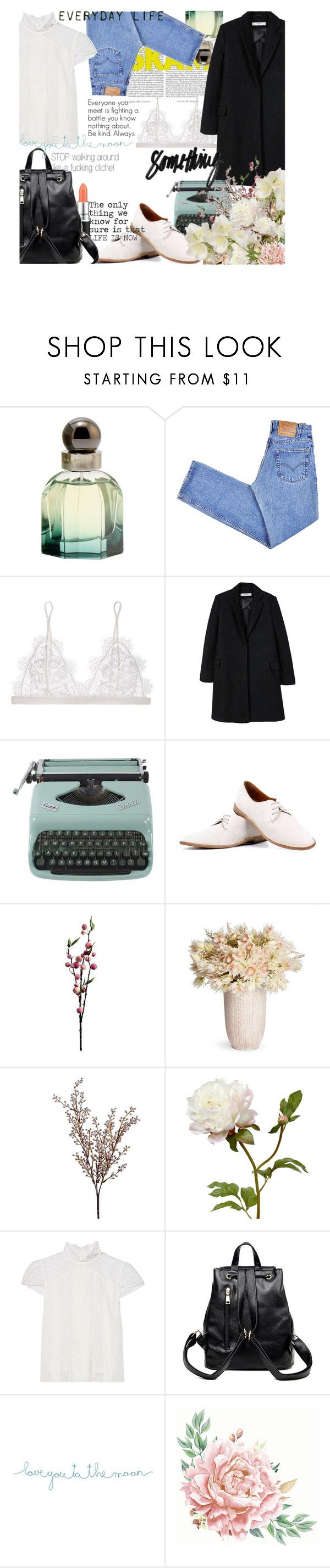 """""""First noora look from SKAM"""" by enjoyrosa ❤ liked on Polyvore featuring TBA, Balenciaga, Levi's, Anine Bing, MANGO, PANTANETTI, Wyld Home, Alice + Olivia and Natural Life"""