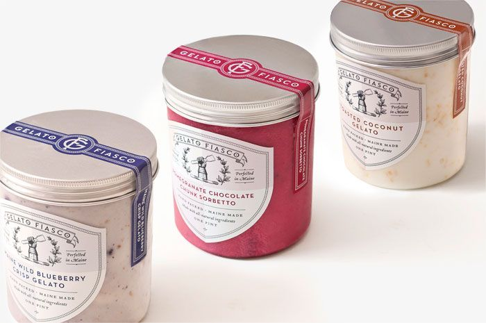 love that package! definitely an improvement. Before & After: Gelato Fiasco - The Dieline -