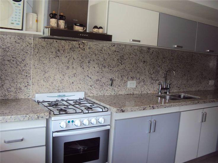 Mesada en granito blanco marfil cocina pinterest - Pintar encimera cocina ...