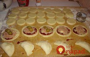 Plnené pizza kapsičky: Chrumkavá chuťovka, po ktorej si oblížete všetky prsty!
