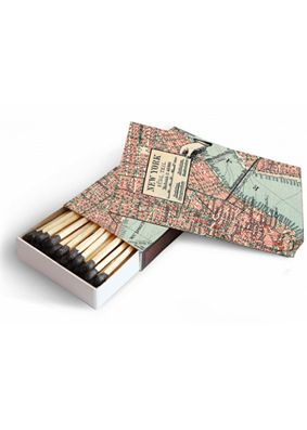 Map of New York Candle Matches