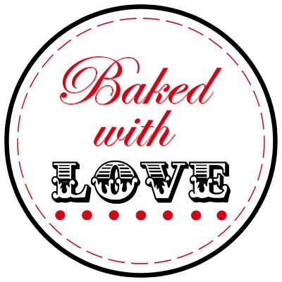 Download Baked with Love Tags   Free printables   Christmas tags ...