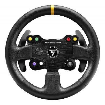 Thrustmaster TM LEATHER 28GT WHEEL Add-on volante por 89 €  El #volante estilo GT desmontable #fabricado con piel cosida a #mano, compatible con todos los volantes de #carreras de la Serie T de Thrustmaster (T300 RS / T300 Ferrari GTE / T500 RS / #Ferrari F1 #Wheel Integral T500 / TX Racing Wheel Ferrari 458 #Italia Edition).   #chollos #compras #consolas #gaming #ofertas