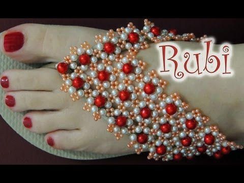 Chinelo decorado com strass e pérolas passo-a-passo - YouTube