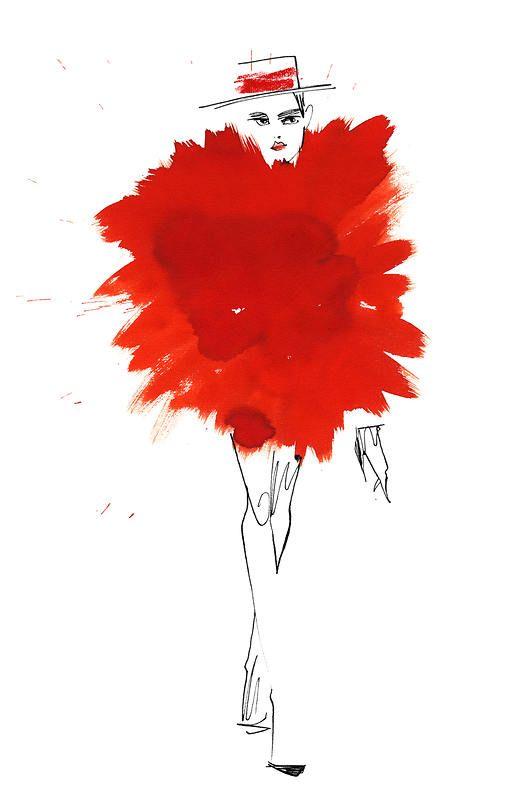 Lovisa Burfitt Pouf Rouge, 2012