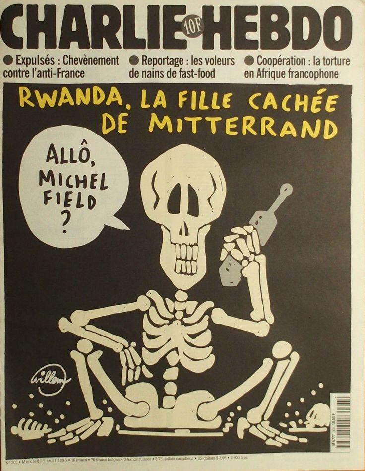 Charlie Hebdo - # 303 - 8 Avril 1998 - Couverture : Willem