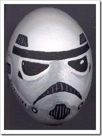 Stormtrooper Easter Egg plus 12other Star Wars egg ideas