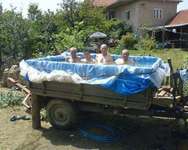 DOMÁCÍ KUTIL: Jak si udělat skvělý zahradní bazén doma na koleně | Dooffy Design…