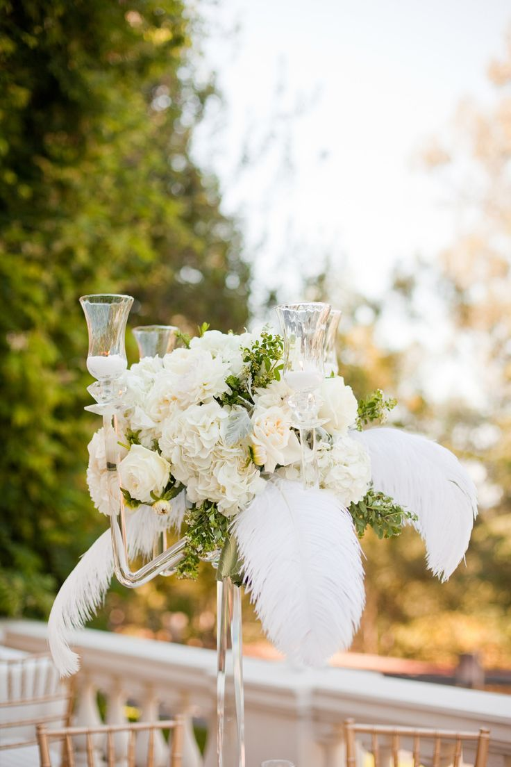 Modern Feather Centerpieces For Weddings Gallery - Wedding Idea 2018 ...