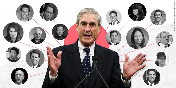 Special counsel Robert Mueller assembled a team of at least 17 lawyers for his investigation of Russian interference in the 2016 election and potential collusion between the Trump campaign and Russia. The investigation has already led to charges against 22 people and entities, including four associates of President Donald Trump. Mueller brought on private-sector attorneys and prosecutors from the Department of Justice. Here are biographies of the 17 lawyers known to be working on Mueller's…